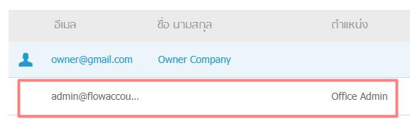 เลือกผู้ใช้งาน